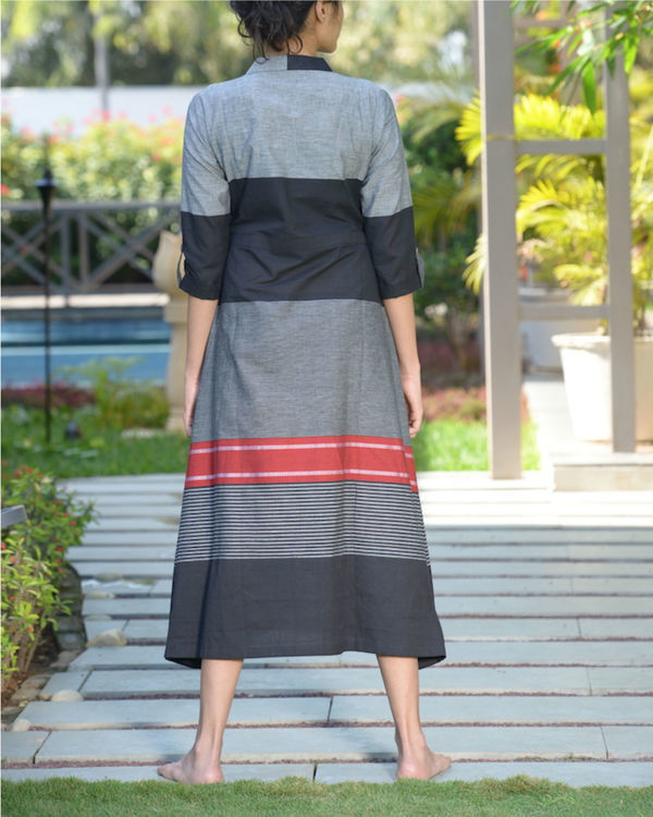 Striped a line kurta 1