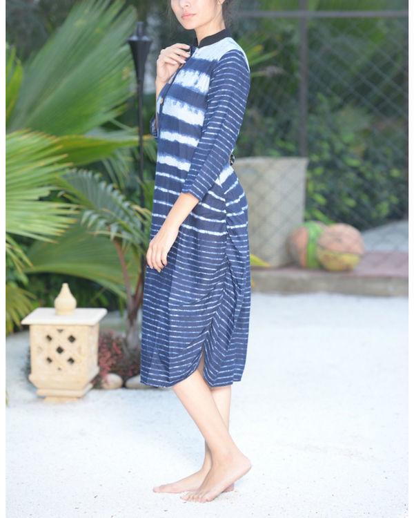 Ocean striped tunic 1