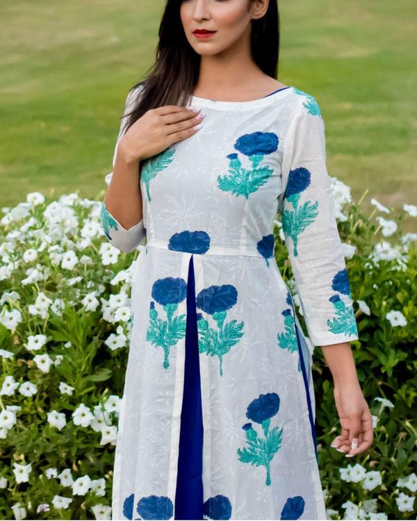 Layered blossom dress 1
