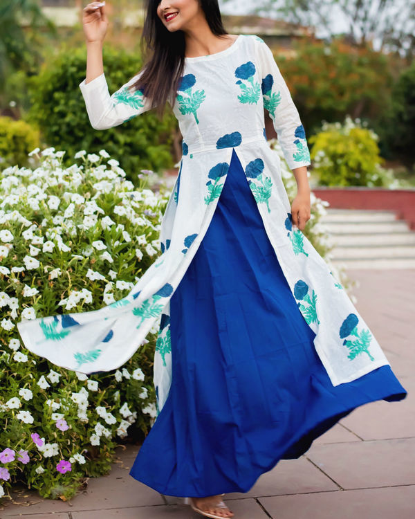 Layered blossom dress 2