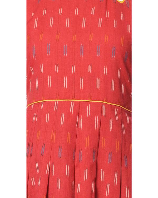 Crimson ikat maxi 1