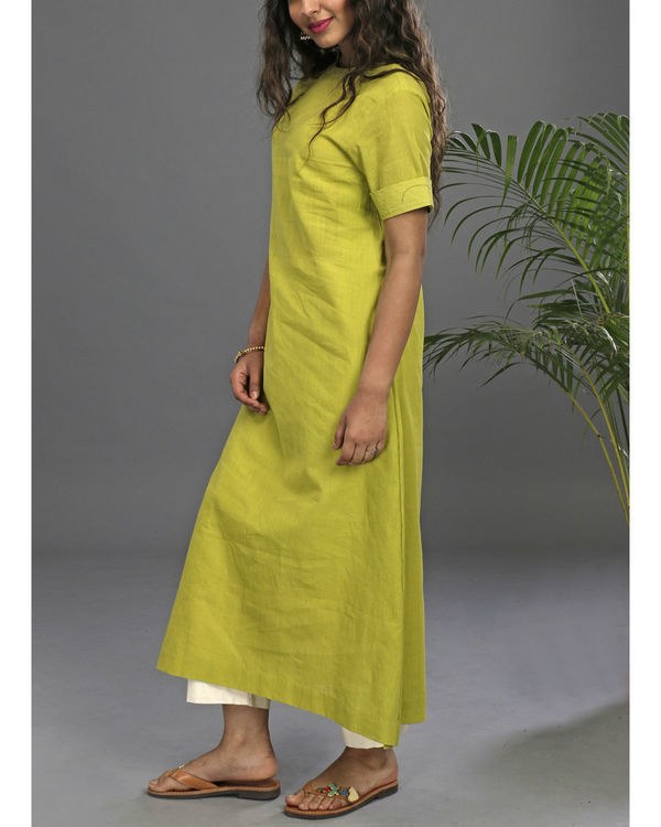 Lime a line tunic 1