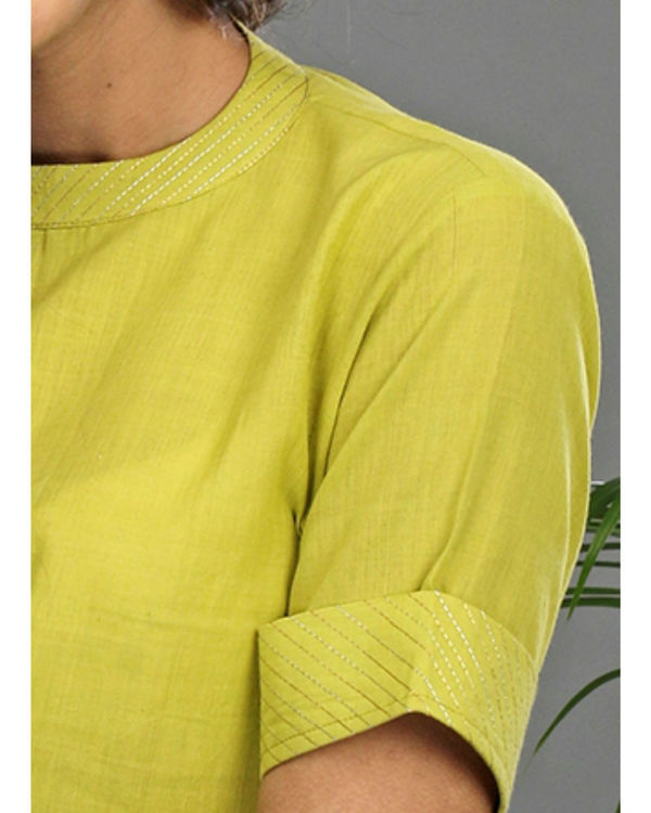Lime a line tunic 2