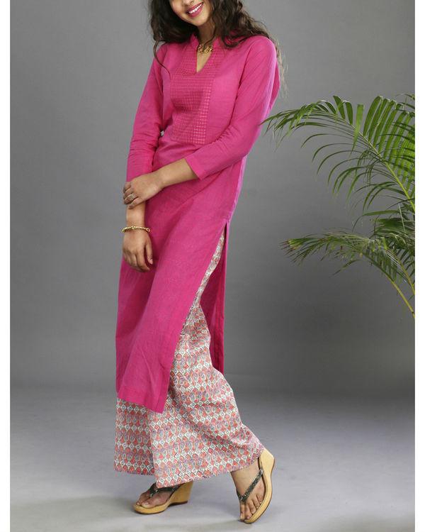 Pink floral set 1