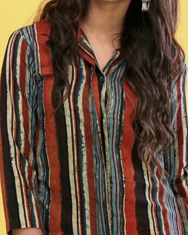 Multiple striped tunic 1