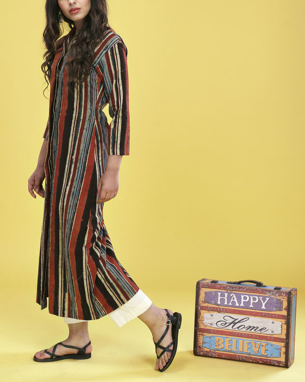 Multiple striped tunic 2
