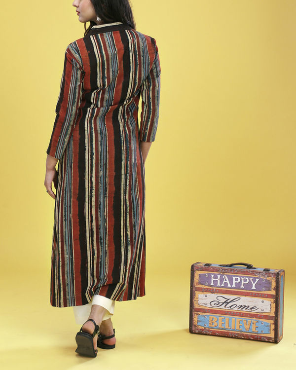 Multiple striped tunic 3