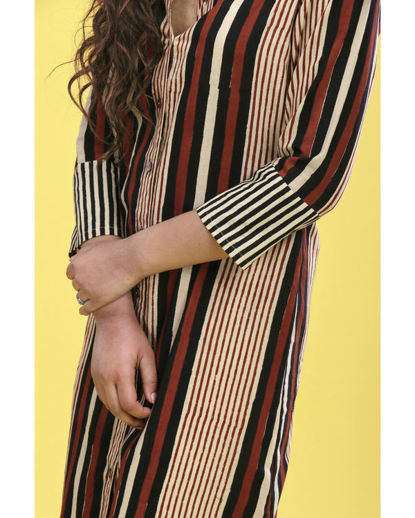 Bold striped tunic 1