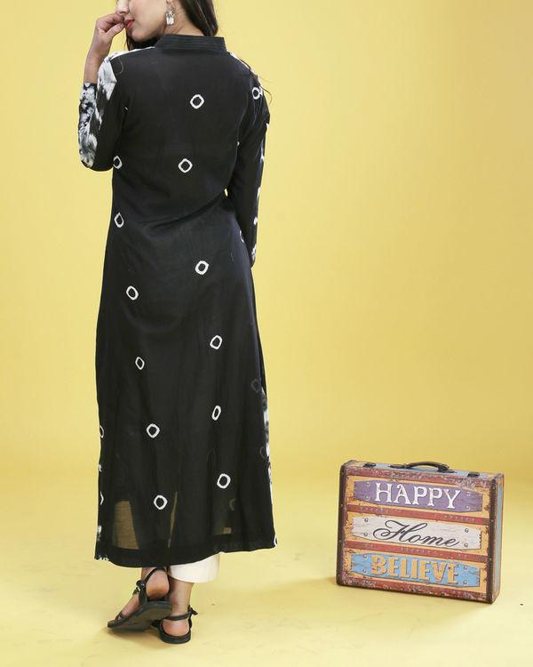Black tie-dye tunic 6
