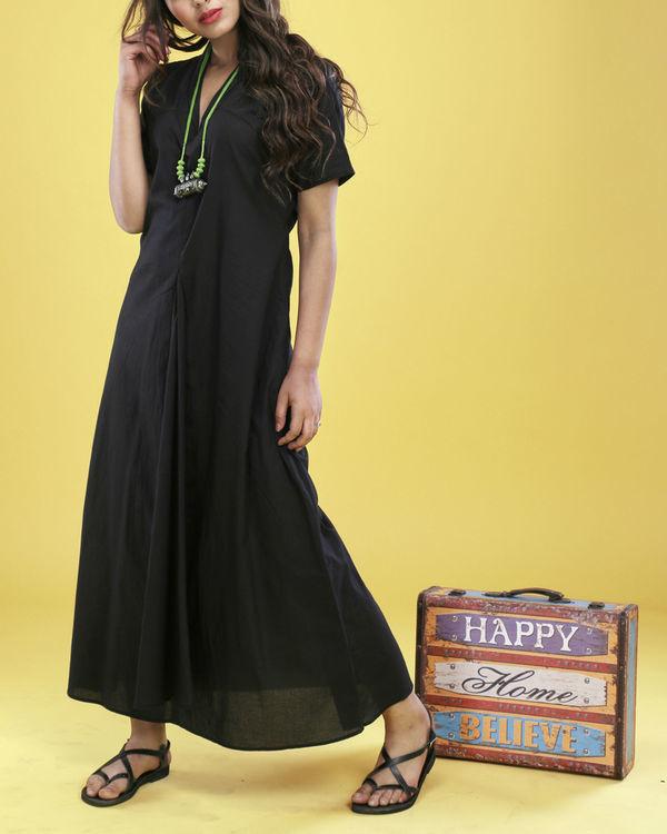 Black asymmetrical gown 5
