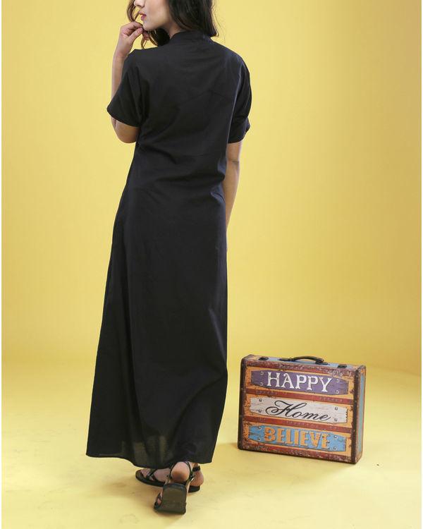 Black asymmetrical gown 6