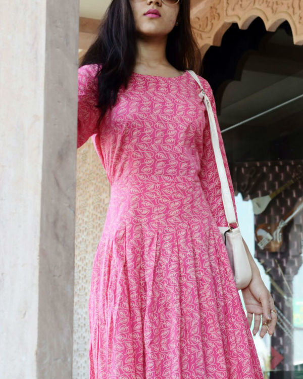 Blush pink maxi 1