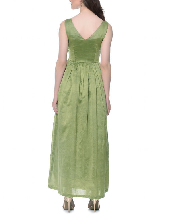 Olive fairytale dress 2