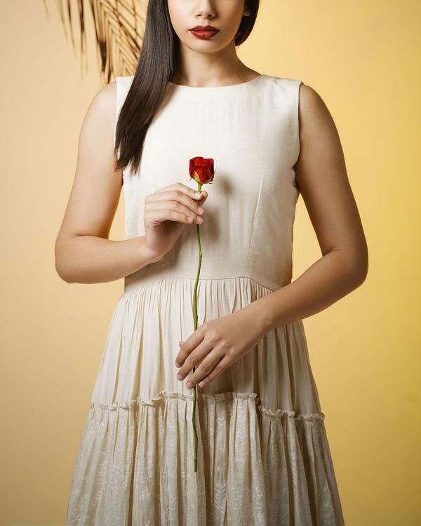 Ivory princess dress 2