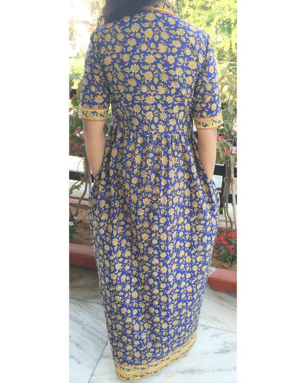 Ajrakh maxi dress 2