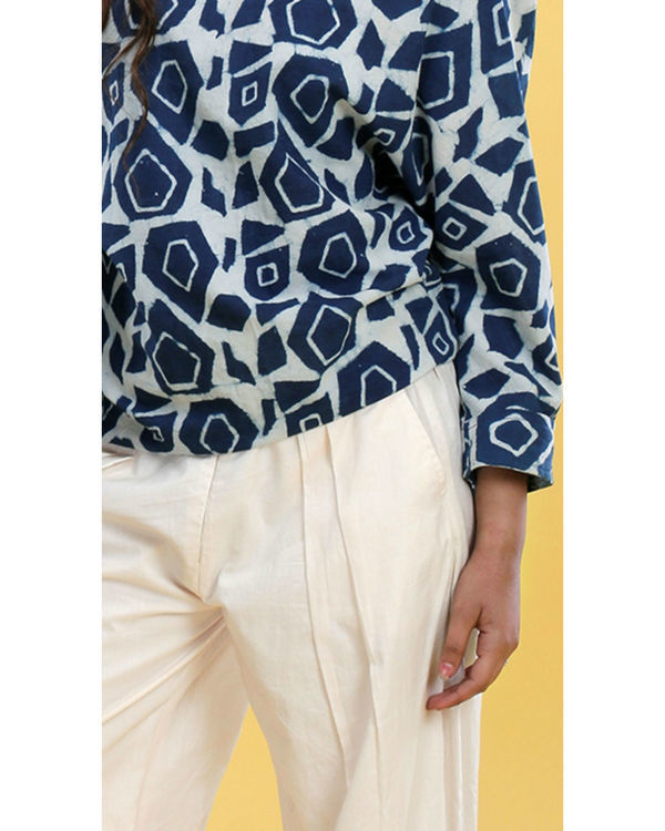 Abstract dhoti set 2