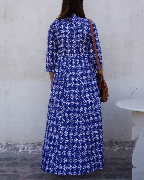 Sapphire blue dress 1