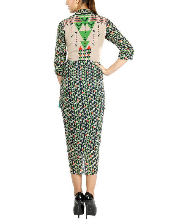 Triangle tasseled dress 1