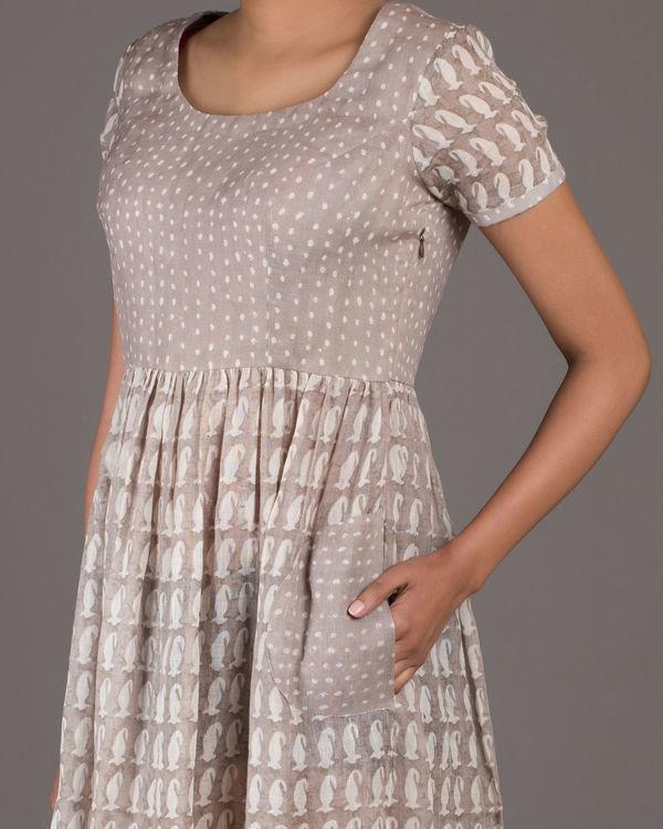 Polka paisley dress 1