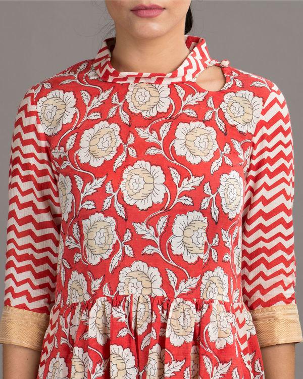 Blossom red dress 1