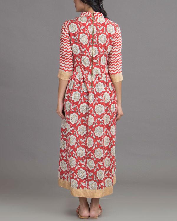 Blossom red dress 2