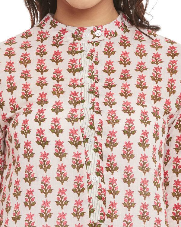 Floral motif tunic 1