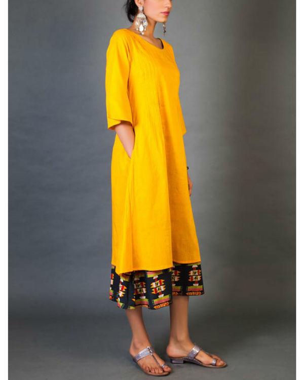 Amber faux layer dress 1