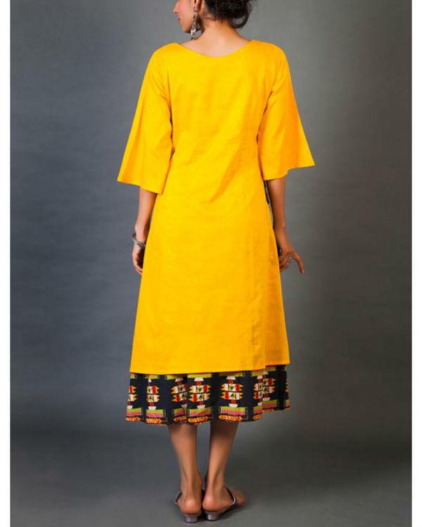 Amber faux layer dress 2