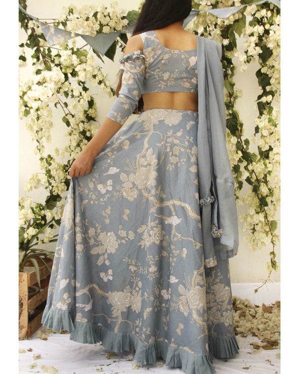 Drop Shoulder lehenga set 2