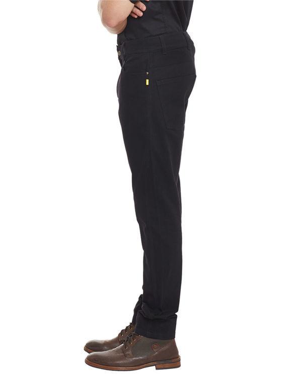 Jet black vintage jeans 1