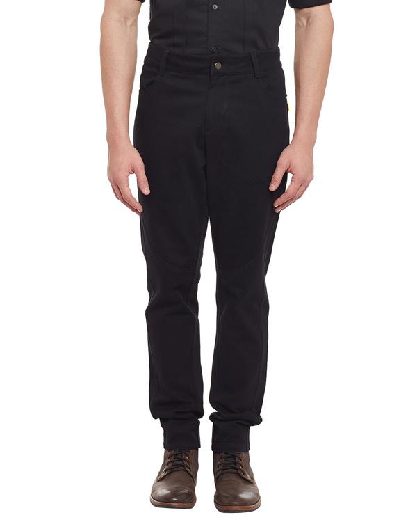 Jet black vintage jeans 2