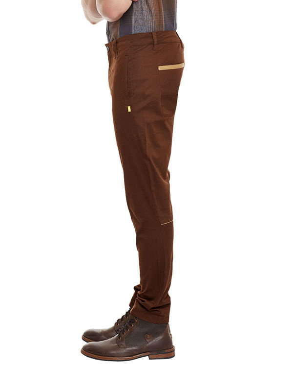 Deep brown riding trousers 1
