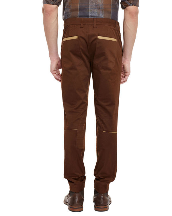 Deep brown riding trousers 2