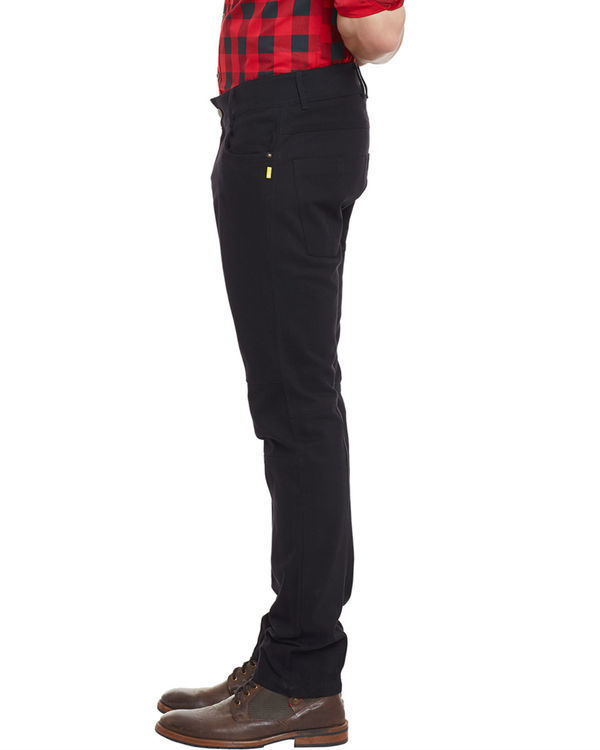 3d fit jet black straight jeans 2