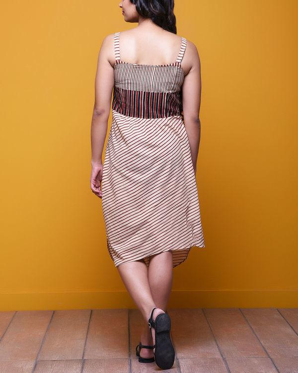 Beige cut out dress 2