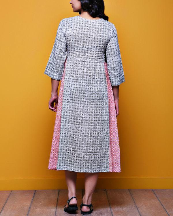 Checkered tasseled dress 2