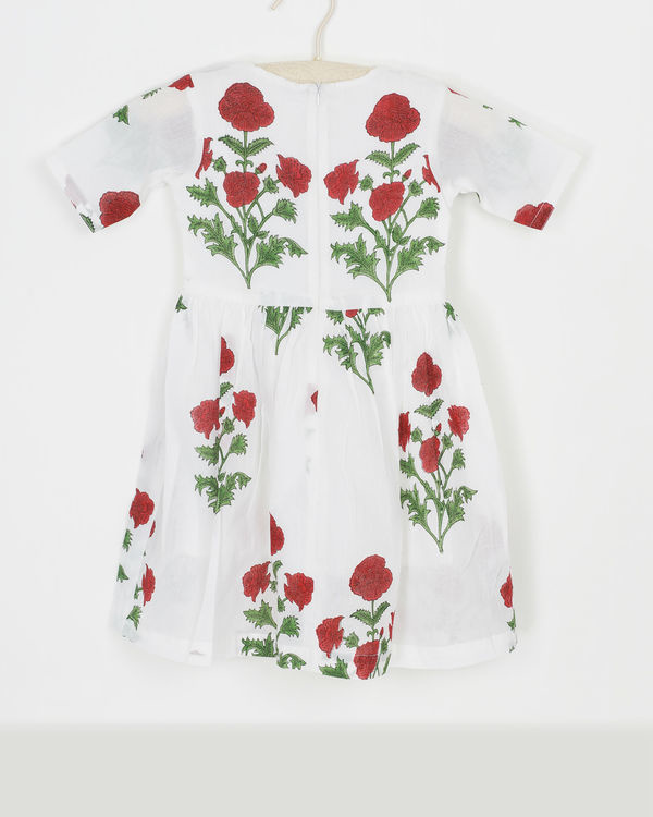 Mini rose dress 1