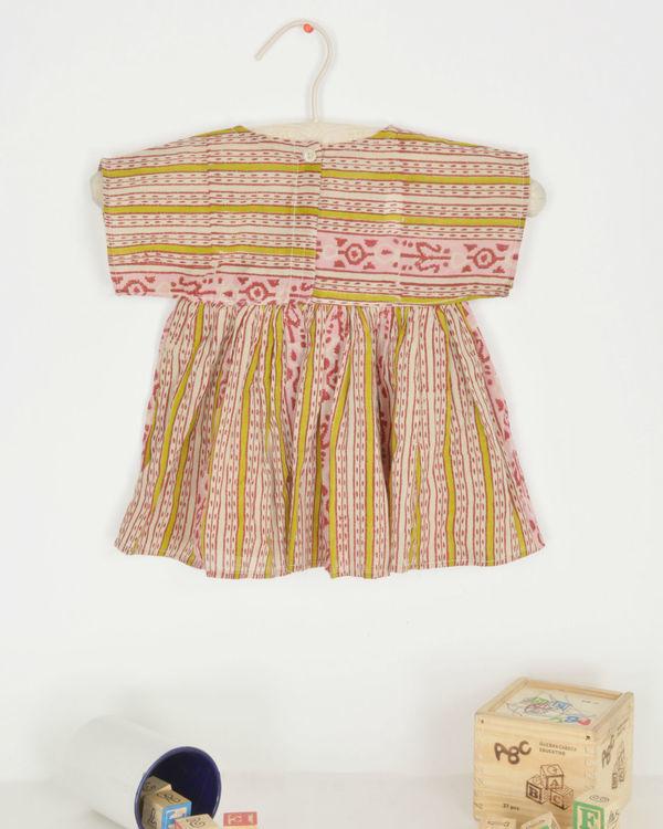 Ikat print dress 1