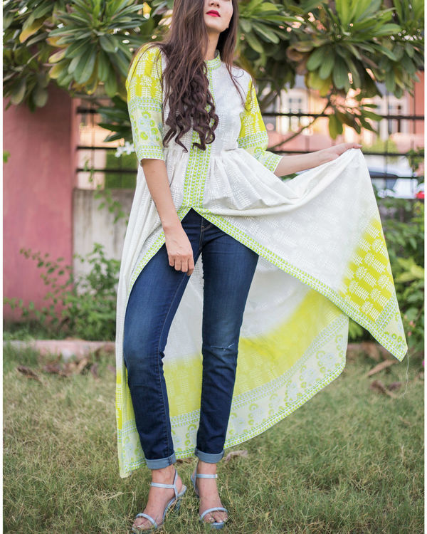 Misty mint tunic 1
