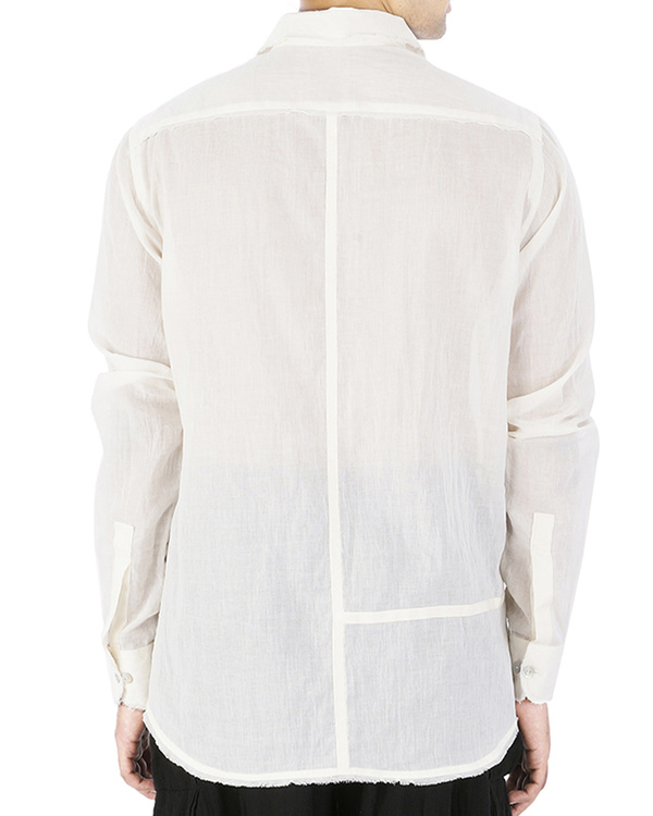 Off white voile shirt 1