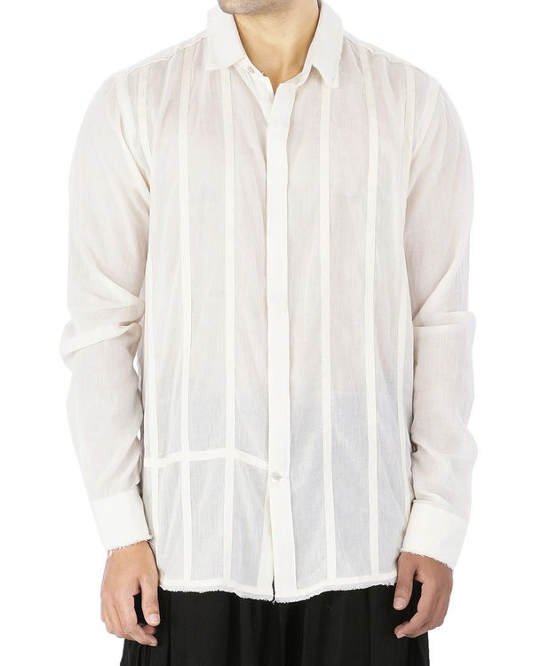 Off white voile shirt 2