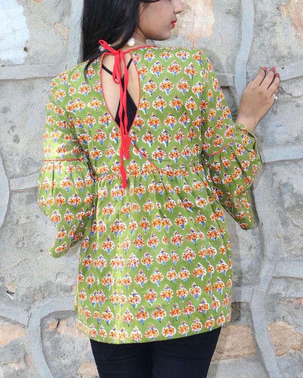 Garland kimono top 1
