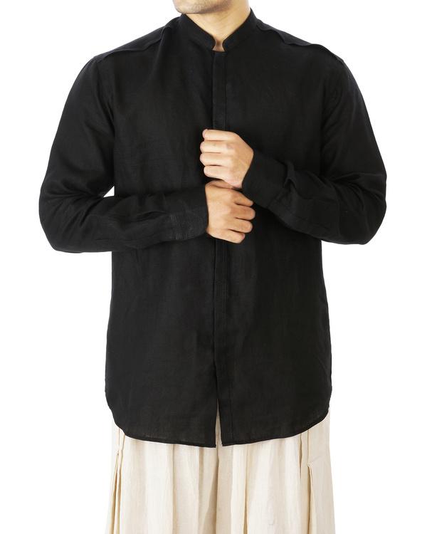 Linen kurta shirt 1