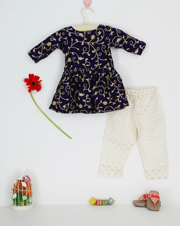 Navy zari set 1