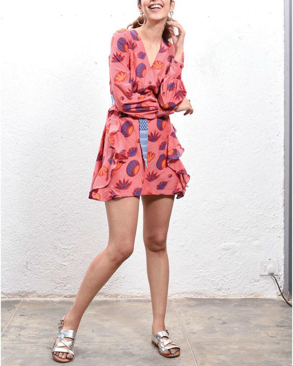 Lotus ruffled dress 1