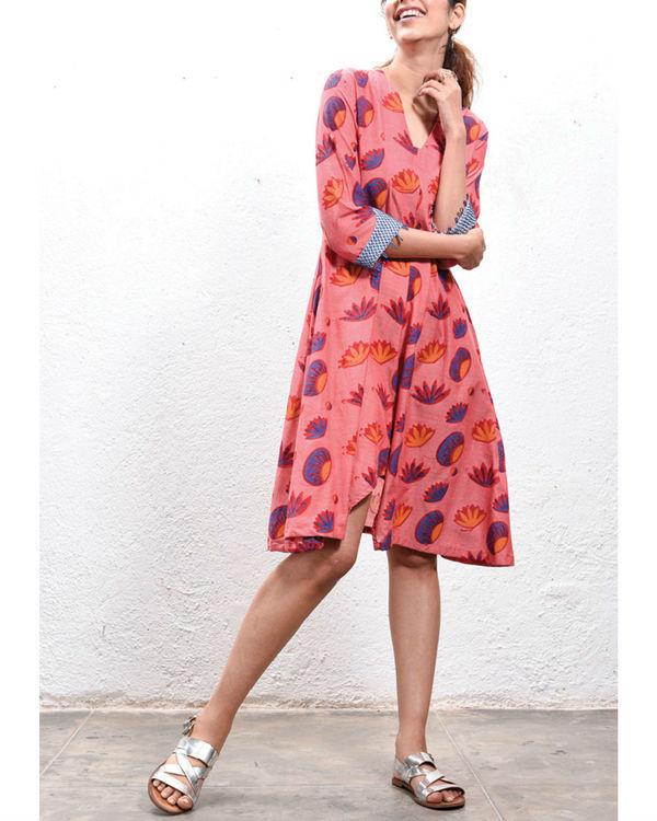 Lotus slit dress 1