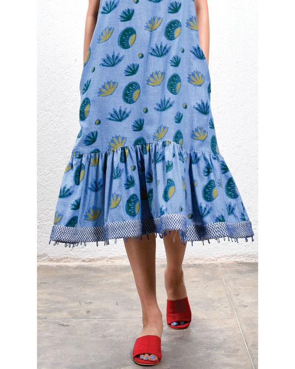 Lotus low hem dress 1