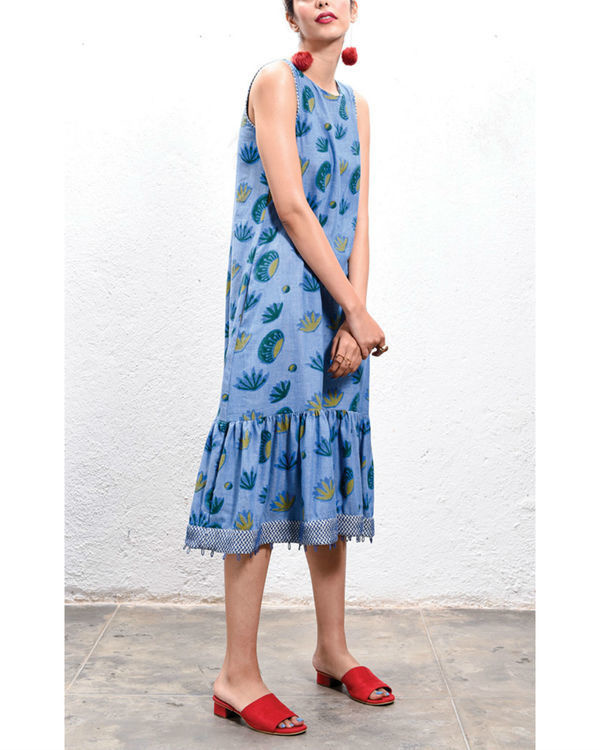 Lotus low hem dress 2