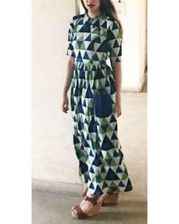 Cobalt pocket dress 1