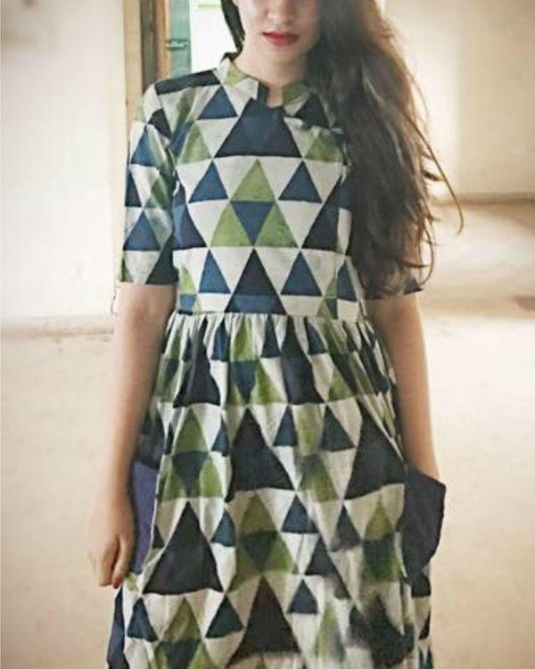 Cobalt pocket dress 2